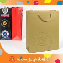 food kraft paper bag for shopping kraft bag