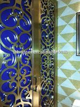 room divider curtain laser cut metal screens