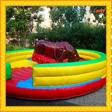 Amusement rodeo bull rides/Spain bullfighting rodeo bull/Mechanical bull hot selling