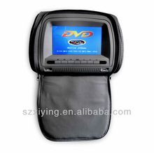 Cheap price car Headrest DVD player with wireless game (XD708)