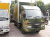 4ton JMC cargo van truck with tail lift platform