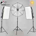 Equipamento fotográfico photo light kits softbox com E27 padrão tomada de luz