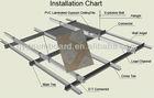 vinyl faced gypsum ceiling tile panels