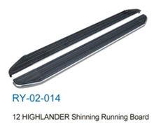 Car parts for 2012 highlander shinning running board