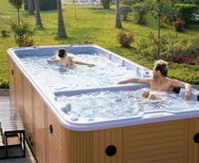2014 Modern Family Swim Spa Tub Home Outdoor Pool