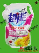 Popular plastic spout pouch design for liquid detergent