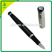 BEF-C508 Baoer silver metal business fountain pen