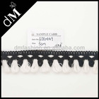 Wholesale black and white crochet tassel fringe trim for women ETR0849