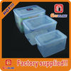 Hot sale high quality custom plastic food storage containers