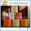 coche de aire del filtro de papel