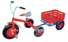 baby tricycle with a trailer