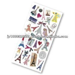 Petit Poche Sticker Eiffel tower _ eiffel tower paper _ sticker paper _ paper craft _ handmade _ most popular products