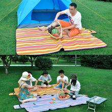 150*200cm traveling fold up plaid travellers washable portable picnic blanket