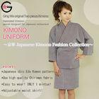 Fu-ka wholesale clothing beaded kaftan dress japanese costumes 100% Polyester Purple Grey moroccan caftan kaftan Kimono
