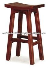 Wooden Barstool