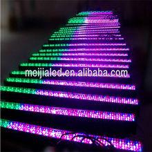 Sound control DMX digital display 252*10mm RGB LED stage light bar