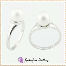 wholesale fashionable jewellery ring with Platinum plated