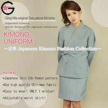 Fuka Japan online shopping for clothing washable non shrinkable fabric polyester Kimono maxi dress formal dress apparel bathrobe