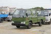 Cheaper !Double cab JMC 4x2 light truck mini box van truck