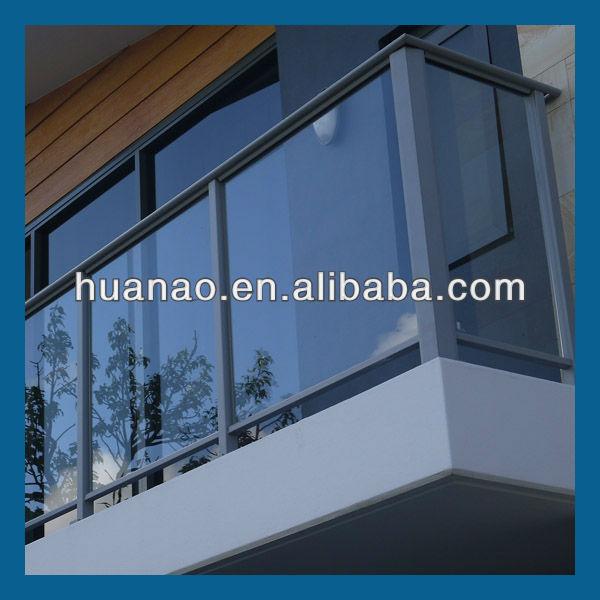 Sta0103 aluminum stair system quotes for Main courante escalier exterieur aluminium