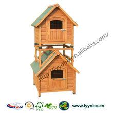 Dog Cages Kennel Houses Weatherproof Design YB-D2103(L)