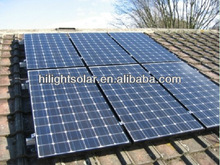 Solar Panel 130W TUV,IEC,CEC,CE,ISO Competitive Pirce