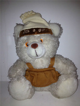 China Girl teddy bear wear clothes