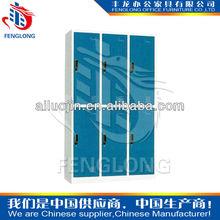 modern design 6 door cheap wardrobe closet,metal wardrobe locker for sale