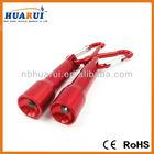 2013 hot mini 1 White Led Flashlight Red Factory Directely