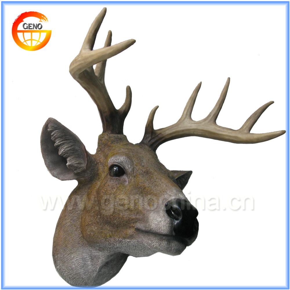 3d cerf sika polyr 233 sine t 234 te d animal plaque murale d 233 coration 224 la maison autres d 233 cors maison