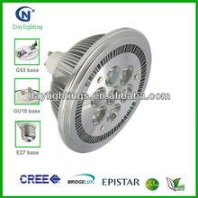 High power G53 AR111 led lamp 7X2W CREE/Epistar CE ROHS