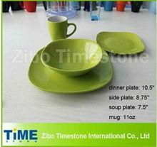 Color Stoneware Dinnerware Set