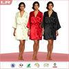 Customized wholesale cheap ladies satin robe