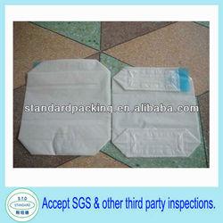 25kg kraft paper block bottom valve bag