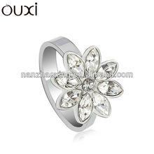 New design ladies finger ring made with Swarovski Elements