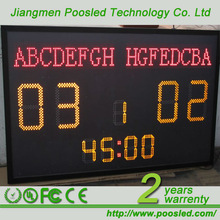 basketball scoreboard with shot clock \ digital basketball scoreboard \ digital racing scoreboard for sale