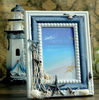 Mediterranean wooden photo frame ornaments art crafts
