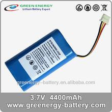 4400mah 18650 3.7v rechargeable battery packs