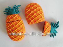 Bulk Custom Flash Drives & Personalized Custom 1gb pineapple usbs flash drive 2gb fruit style pen