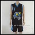 2013 yeni tasarım son süblimasyon basketbol üniforma/forması tasarım Erkekler için