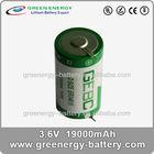 3.6v er34615 lithium battery 19000mAh lr20 d battery