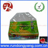Printed stand up zip lock plastic bag for friut packaging