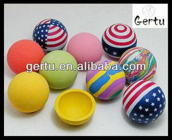 hollow bouncing ball,rubber handballs.plastic balls