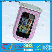 Smartphone waterproof for iphone 5 bag plastic waterproof bag