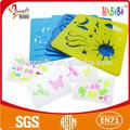 Eco- amigável plástico estêncil desenho para crianças