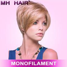 stock 100% synthetic kanekalon fiber wig kanekalon korean wigs