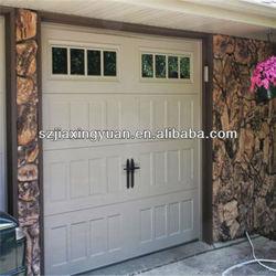 Graceful Fashionable Design Steel American Style Garage Door