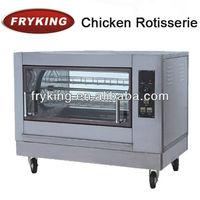 commercial chicken rotisserie oven