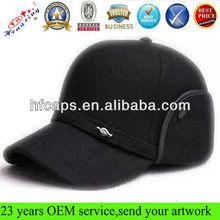 Fashion woolen avitor bomber winter ski trooper ear flap hat cap