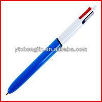 click ball point pen/cheap silver ball pen/bal pen producer